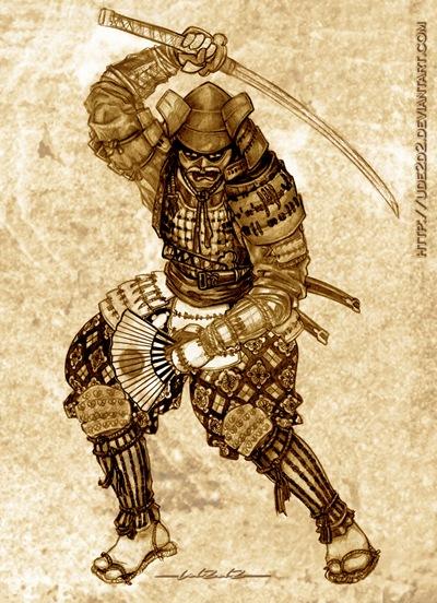 Version del guerrero rojo (red warrior)