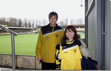 大津祐樹選手からサインをもらって・・・