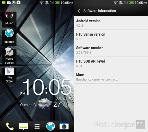 HTC Butterfly Android 4.2.2 Jelly Bean Sense 5 Update