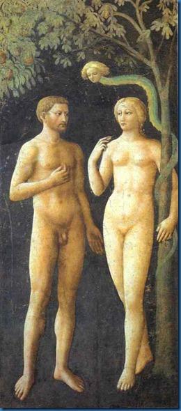 Adam, Eva und ein sonderbares Geschöpf