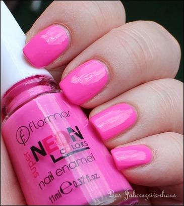 Pink Flormar NEON N008