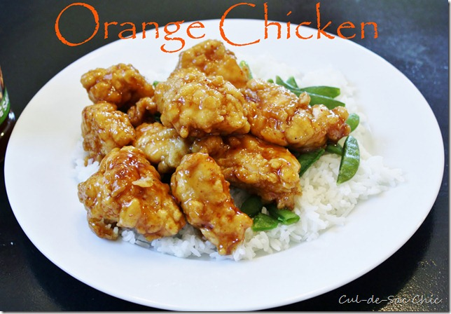 Easy Peasy Orange Chicken