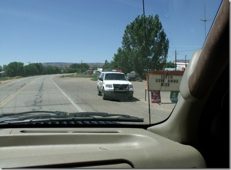 12 Empty cop car SR89A N Fredonia AZ by Mike (1024x753)