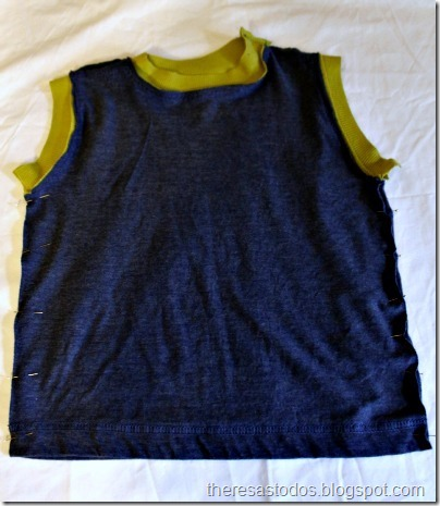 Muscle Shirt Sew Side Seams