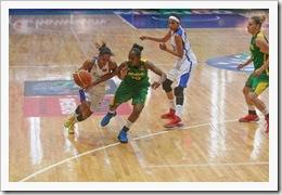 Campeonato FIBA Américas 2013 Femenino Xalapa, México Brasil vs. Puerto Rico Partido medalla de bronze Foto: Samuel Vélez