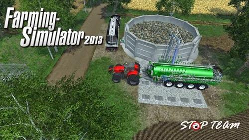Silo-for-liquid-manure-v 1.0