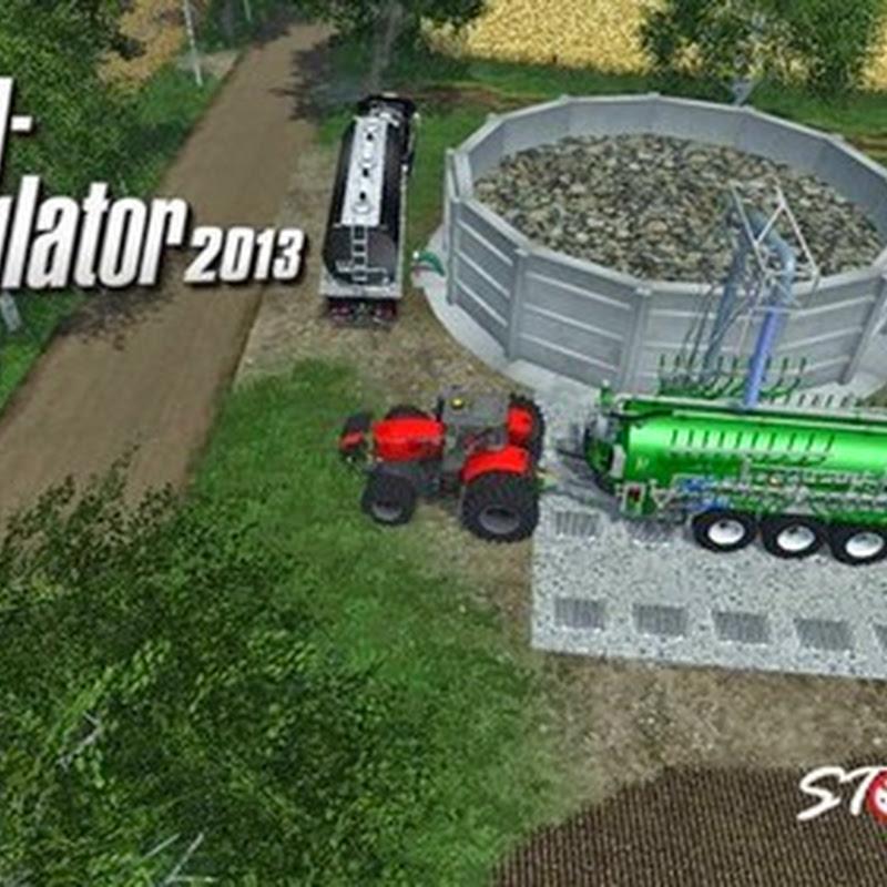 Farming simulator 2015 - Silo for liquid manure v 1.0
