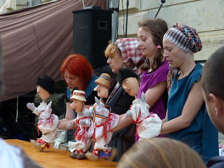 Imagini Festival Medieval: papusari