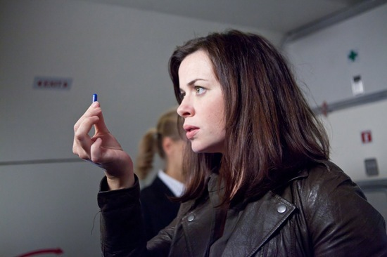 "Eve Miles is Gwen Cooper in Torchwood: Miracle Day - ""Rendition"""
