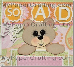 cricut artiste bear piecing topper 450