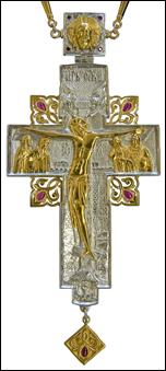 Хрест з прикрасами