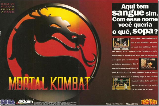 Propagando do mortal kombat (2)