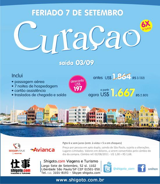 Pacote de Viagem para Curaçao