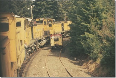 56154116-23 Riding the Weyerhaeuser Woods Railroad (WTCX) on May 17, 2005