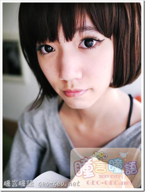 日本HANAKO假髮-【OSS-01】角色扮演動漫COSPLAY彩色短髮♥NEO隱形眼鏡-N259巨目黑