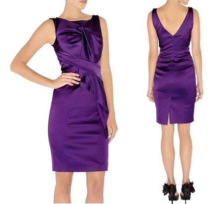 karen_millen_folded_stretch_shift_dress_purple_4