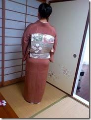 卒業式に江戸小紋で卒業式に (2)