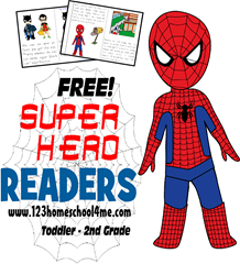 super hero readers