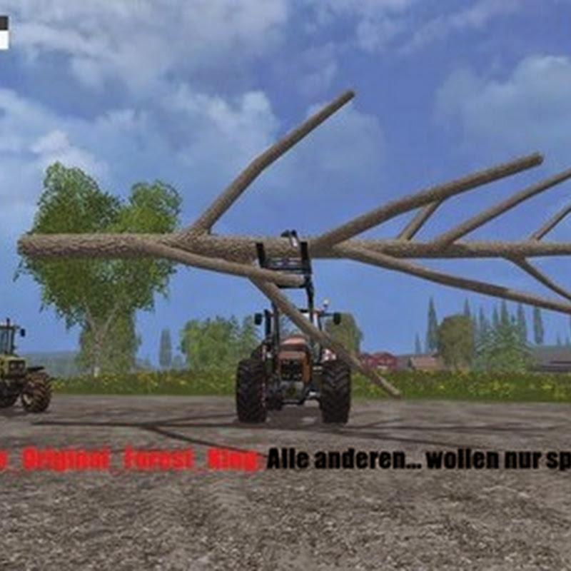 Farming simulator 2015 - Deutz Fahr 7250 Forest King v 1.0