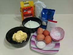 magdalena de yogurt y coco