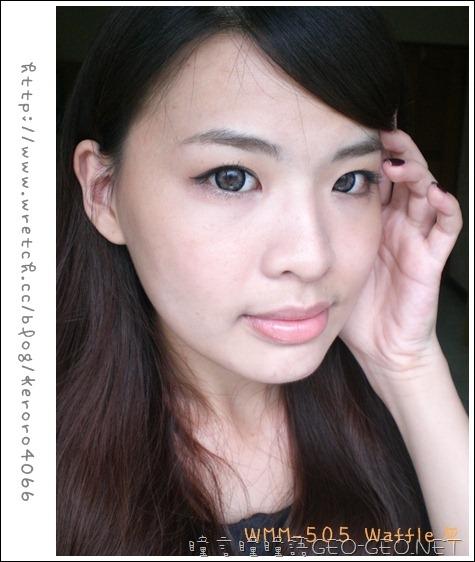 GEO隱形眼鏡WMM-505Waffle灰