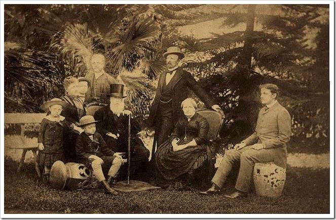 Familia Imperial em 1887