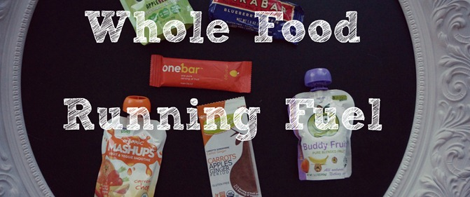 Whole Food Running Fuel Options