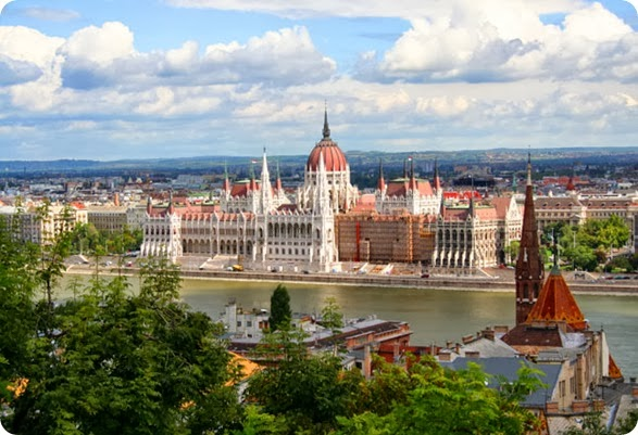 best places to travel in Europe:  Budapest