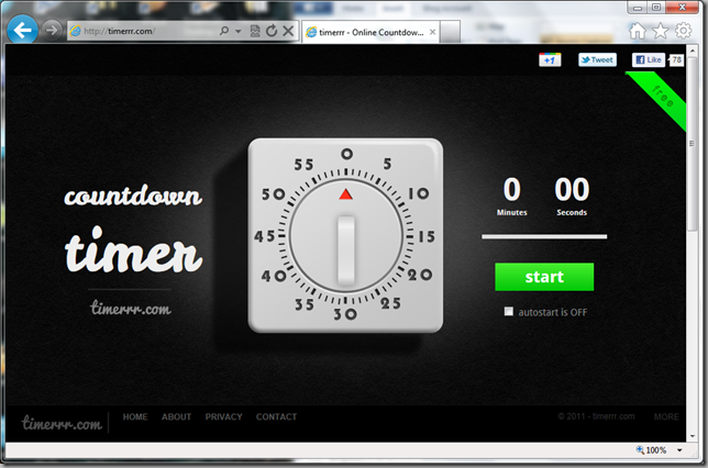 timerrr.com screenshot