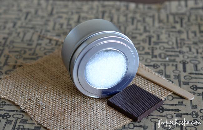 2 Ingredient Bath Salts - Chocolate Cupcake Scent