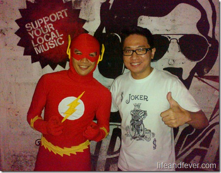 Stanley Chi and Flash