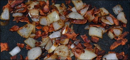 bacon and onions