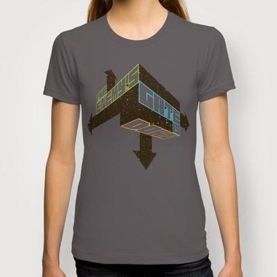 Game On Ender's Game T-Shirt by Drew Brockington