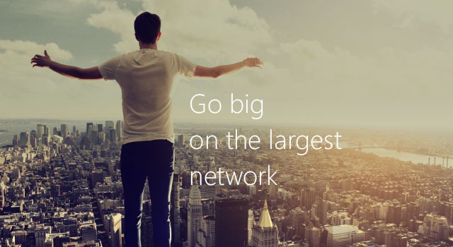 Go big on the largest Windows Phone network