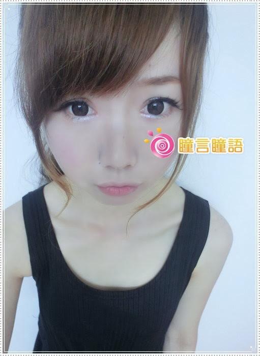 日本KRIAKRIA隱形眼鏡-Sweety Eye 糖果巧克力6