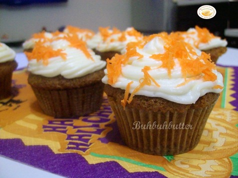 Carrot cake tortini