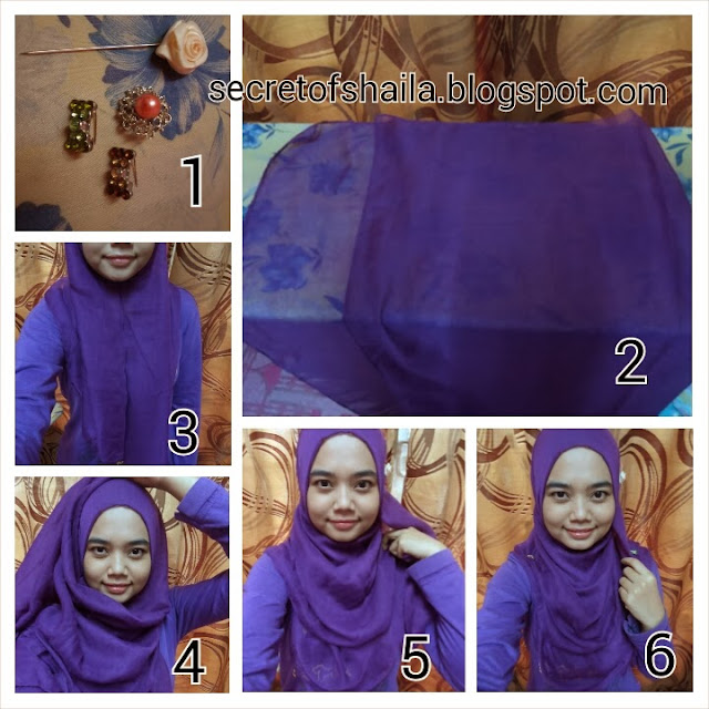Tutorial wide shawl