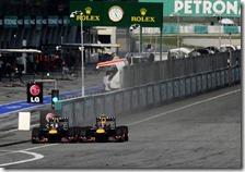 Il sorpasso di Vettel a Webber nel gran premio della Malesia 2013