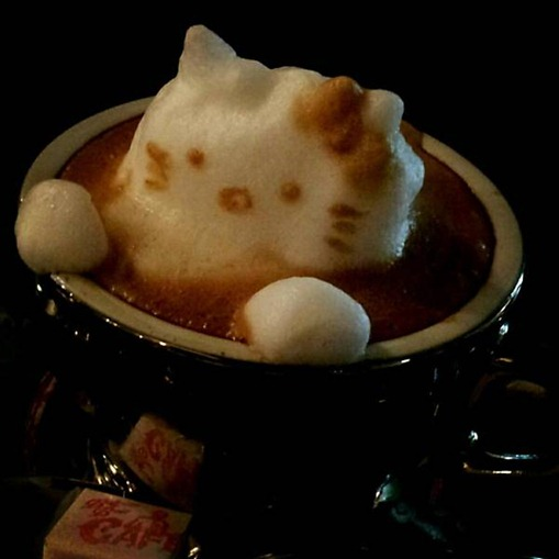 Arte em café 3
