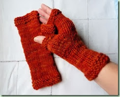 Burning Embers Mitts