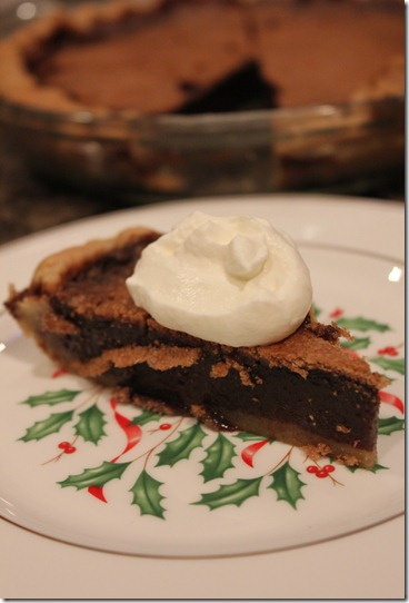 Minny&#39;s Chocolate Pie