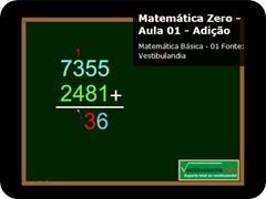 Video aulas grátis de matemática - matemática básica