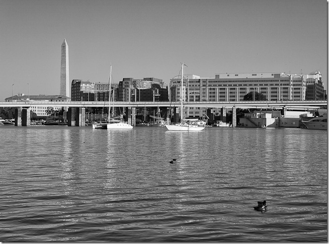 Washington Monument and DC Waterfront