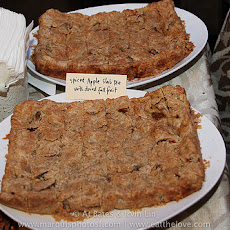 Spiced Apple Slab Pie with Dried Fall Fruit