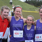 Keighley Schools XC  2013 Year 9-13 at Silsden Park