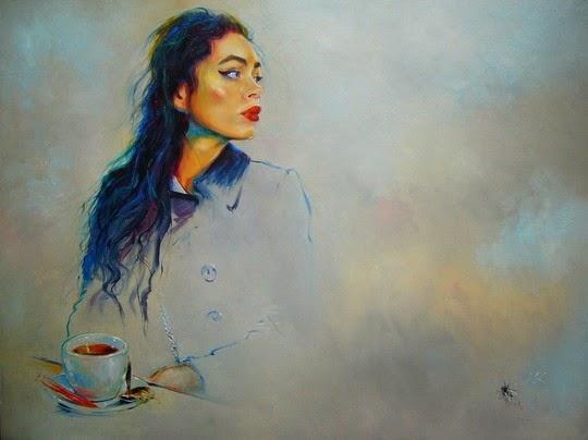 Женские портреты Влодзимеж Куклински (24 фото) | Картинка №4