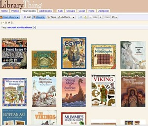 Library Thing homeschool