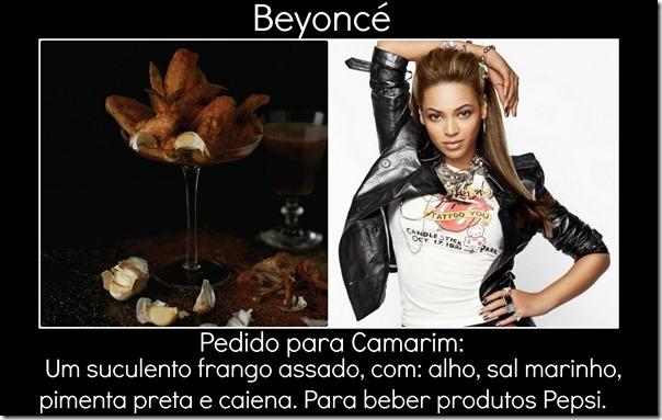 Beyoncé pedido