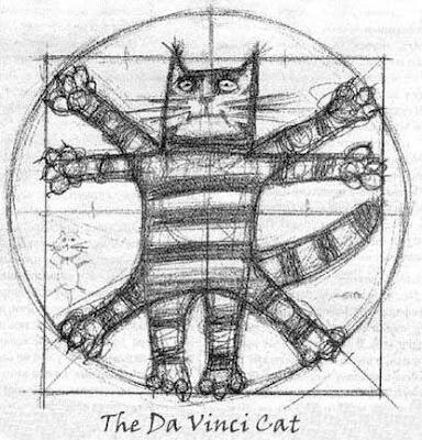 O gato de Da Vinci