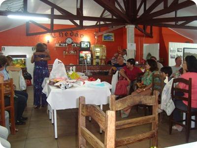 confraternização 2012 do Coral Santo Antônio no restaurante Chedão